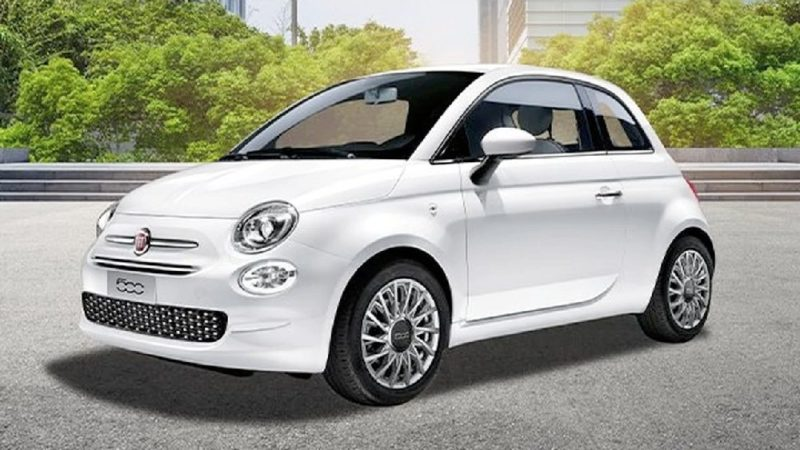 Fiat 500 lounge easy power gpl bianca