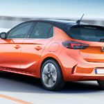 Opel Corsa e elettrica orange thumbnail
