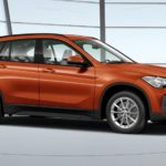 BMW X1 xDrive 20d fianco orange thumbnail